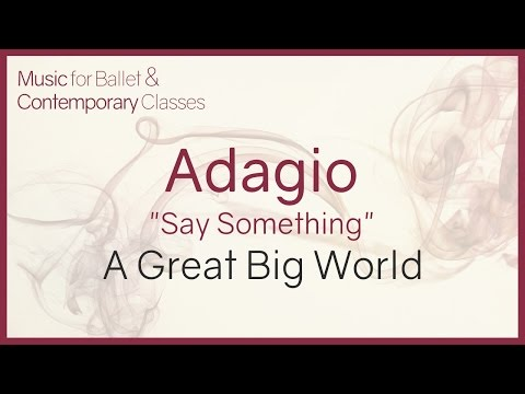 Adagio (Say Something - A Great Big World) - Say Something Piano Version