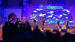 Peddapuli song performance @ Qualcomm Qutumbotsav 2018