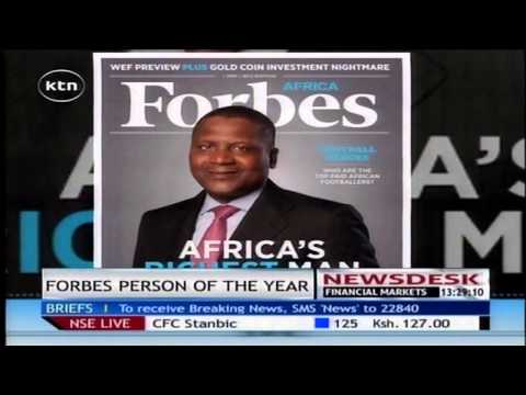 Aliko Dangote Nigerian billionaire named Forbes Africa person of the year 2014