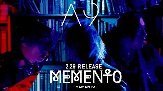 A9 NEW SINGLE「MEMENTO」 2017年2月28日(火)リリース 初回限定盤A 豪...