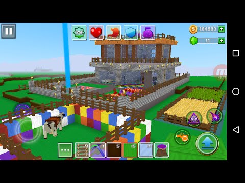 Exploration Craft 'CanadaDroid' Android Gameplay #59 | How To Make A Beautiful Home Part 11 |