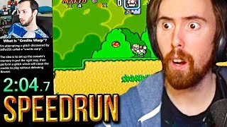 Asmongold Reacts to a PERFECT Mario Speedrun - Glitched Straight to Credits by SethBling