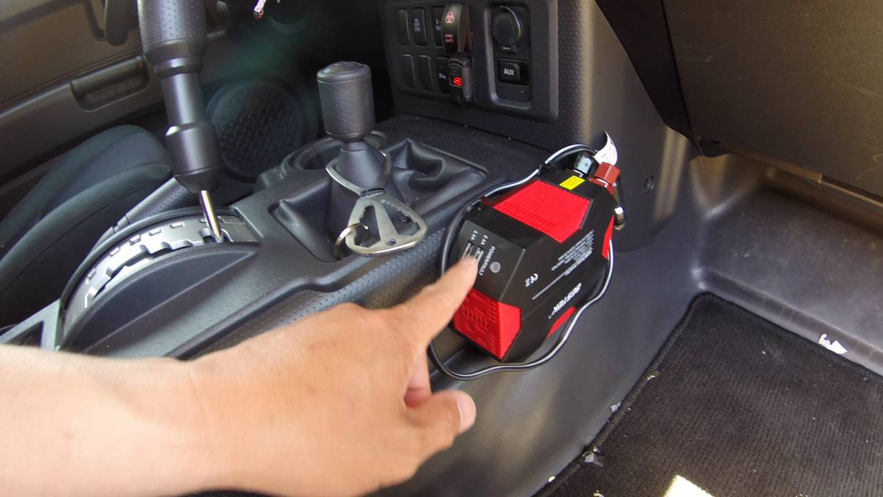 Fj Cruiser Ac Power Inverter 400 Watts After Market In
