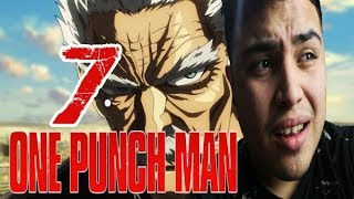 ONE PUNCH MAN CAP 7 LIVE REACTION/REACCION - APARECE EL ABUELO DE KILLUA BANG