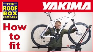 Yakima Frontloader - Roof Mounted Bike Carrier - How To Fit To Aero Roof Bars