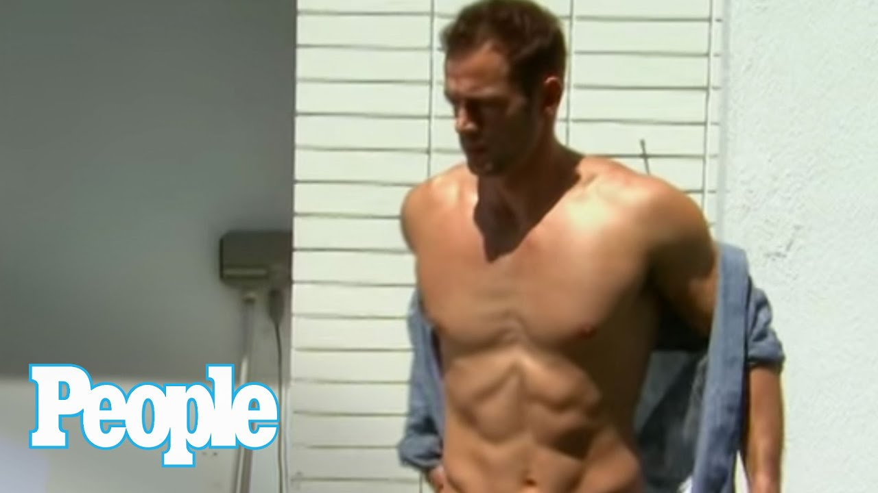 Behind the Scenes of William Levy's Shirtless Photo Shoot! | Up Close | People