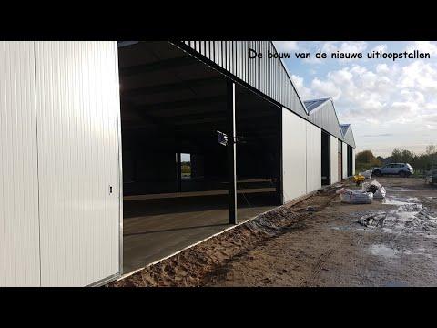 STAL VAN BRENK - de bouw van de nieuwe stallen