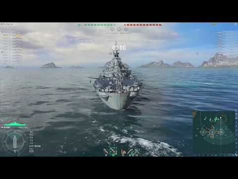 World of Warships - [Tier IX] USS Iowa on Shatter [2017.06.12], Build 0.6.6.0
