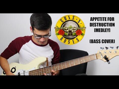 Appetite for Destruction Medley – Guns N' Roses (Bass Cover)