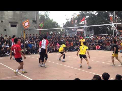 Thể Công vs xã Dục Tú- hội làng Nguyên Khê 2014 : Đỗ Nguyên Hưng
