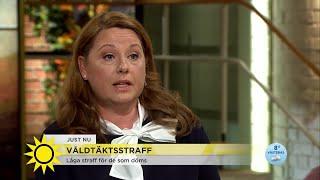 Emma blev våldtagen – straffet för gärningsmannen blev under minimigränsen  - Nyhetsmorgon (TV4)