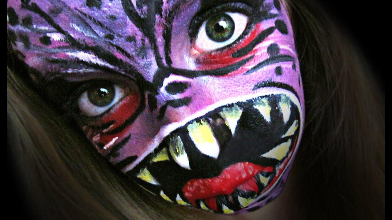 Monstruo | Maquillaje Halloween paso a paso