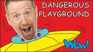 dangerous-playground-story-for-kids-with-steve-and-maggie-and-bobby-free-speaking-wow-english-tv