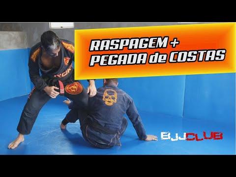 🆕 Raspagem + Pegada de Costas com Julio Mariano  🏼 👉 Jiu Jitsu - BJJCLUB