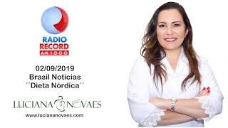 Rádio Record   Dieta Nórdica   02 09 2019
