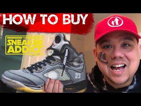How To Buy Air Jordan 5 OFF WHITE, Nike & Air Jordan 1 3 ALLSTAR PACK RELEASES - Will Help You Score