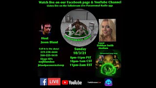 Paranormal Soup Ep 288 Open lines later guest Medium Siobhan Smith