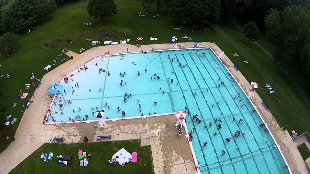 crowded pool at lancaster county central park youtube