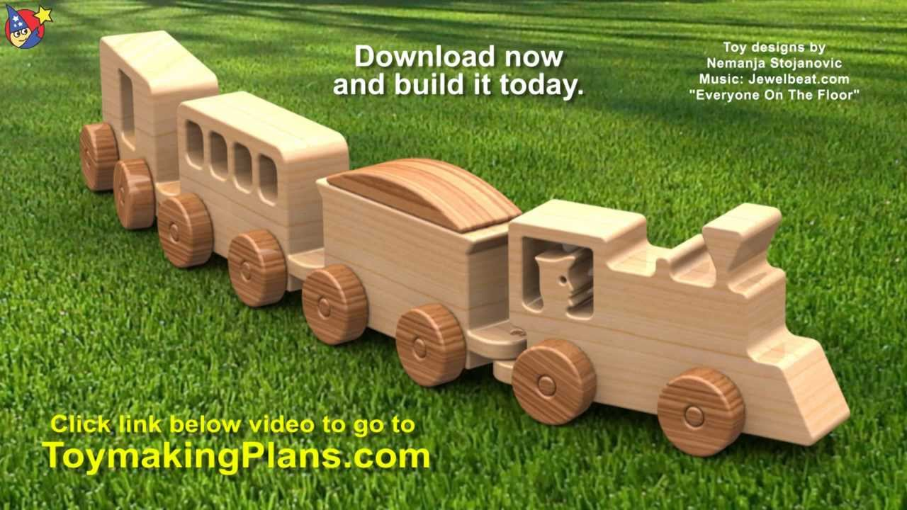 build wood toy train | Woodworking DIY Plans