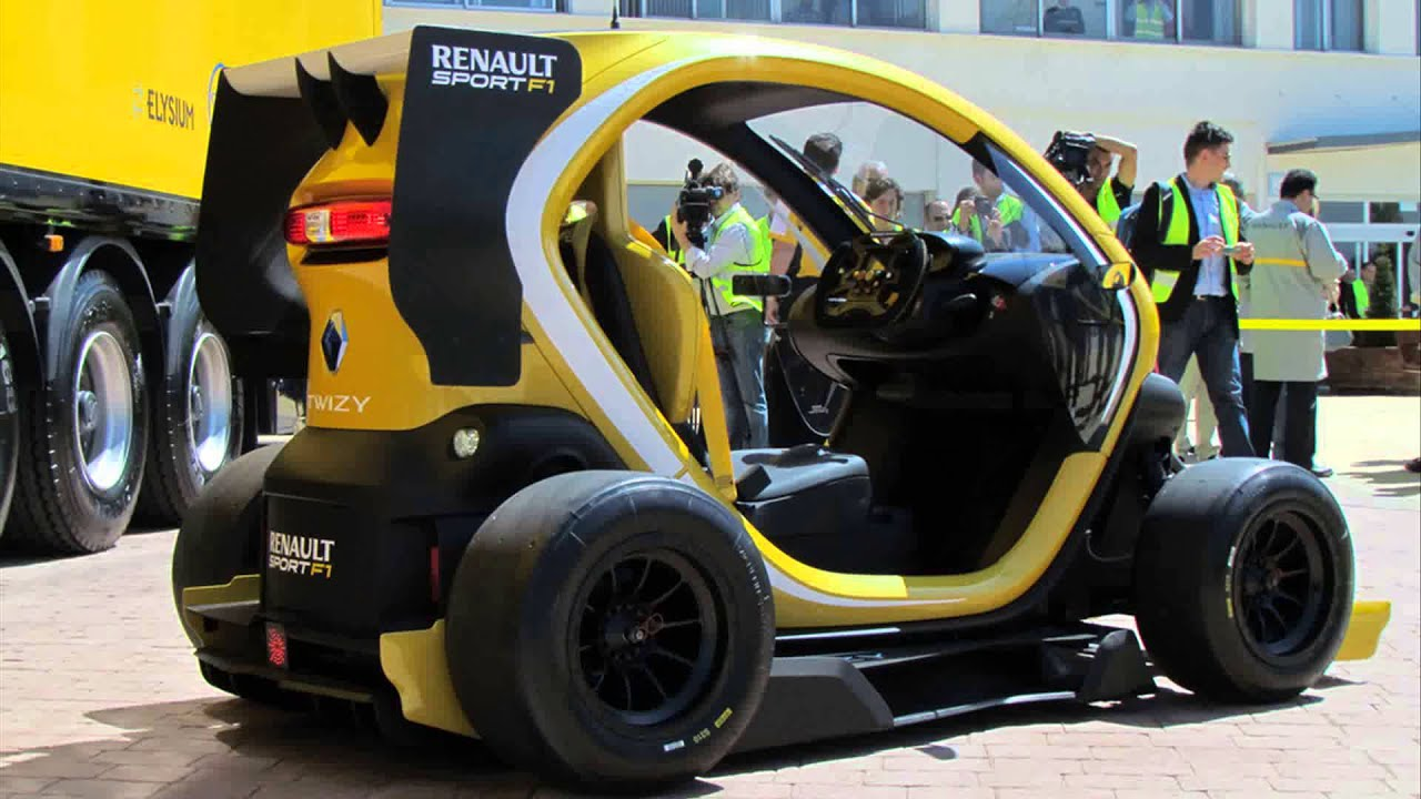 Renault Twizy Rs F1 Concept 2015 Model