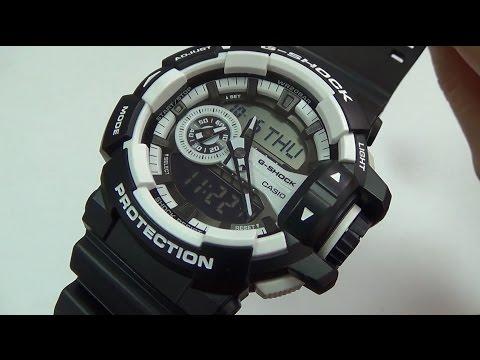 ba9606bdfa2 Casio - G-Shock GA-400-1A - YouTube
