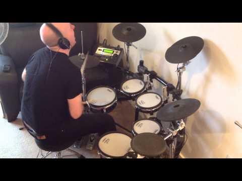 Jane Wiedlin - Rush Hour (Roland TD-12 Drum Cover)