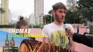 Eles vieram dos mais diferentes lugares do mundo para viver aqui: em São Paulo!