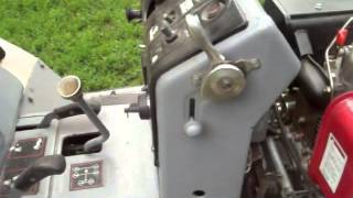замена двигателя уд 25 на дизель в минитракторе т 012