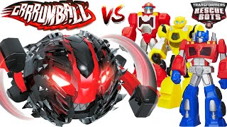 Transformers Rescue Bots Avengers Paw Patrol Toys VS Smash Attack New Grrrumball RC Monsters