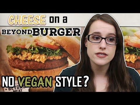 Restaurant serves vegan burger that isn't vegan?