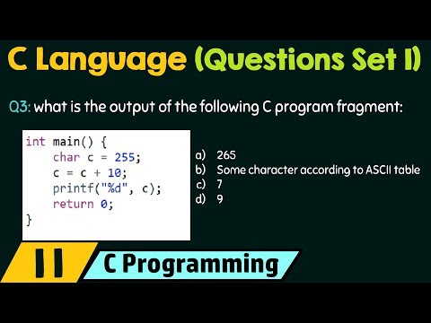 C Programming (Important Questions Set 1)