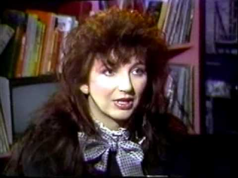 Kate Bush - interview with Adam Curry - Countdown (Holland) - YouTube