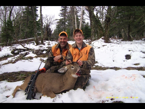Deer Hunting In New England: First Maine Buck -