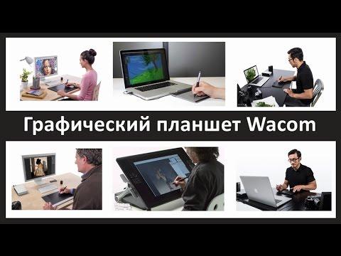 Графический планшет Wacom: выбор модели, эргономика, подключение, настройка.