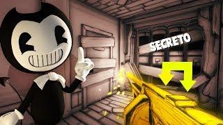CONSEGUI A TOMMY GUN!!! ABRIU UM FINAL SECRETO!!!   Bendy and the Ink Machine Chapter 3 (FIM)