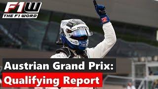 Austrian Grand Prix: Qualifying Report