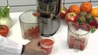 Шнековая соковыжималка Ektor 37 Sirman - интернет-магазин оборудования для ресторанов ТЕХНОФУД(, 2016-04-07T21:53:20.000Z)