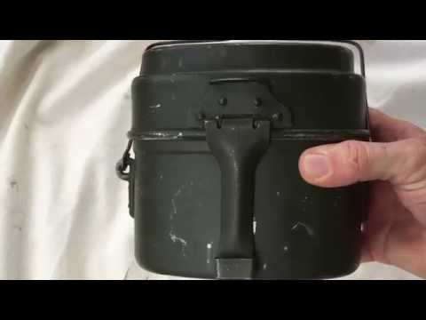 Hungarian Army Mess Kit Review and Cooking Demo.
