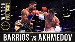 Barrios vs Akhmedox FULL FIGHT: September 28, 2019 - PBC on FOX