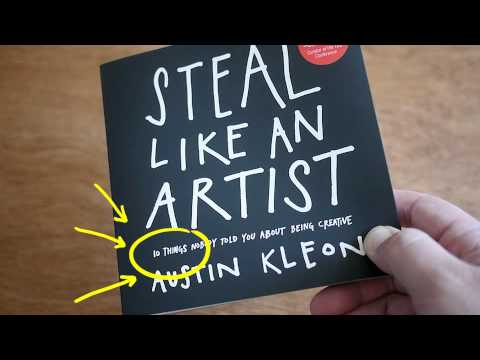 Picasso Like Artists Steal Like an Artist Book