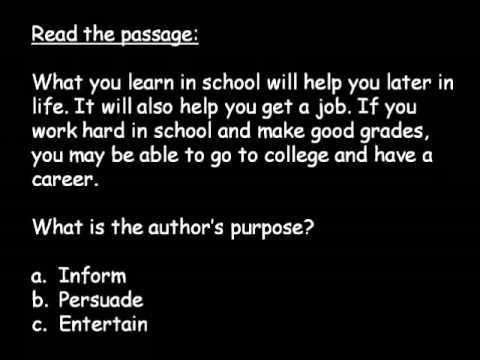 2nd Grade Reading Practice