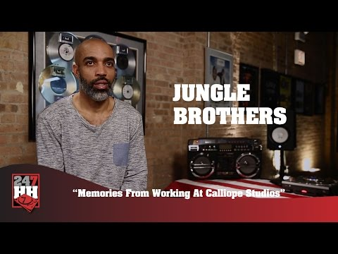 Jungle Brothers - Memories From Working At Calliope Studios (247HH Exclusive)