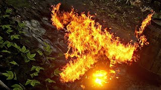 Red Dead Redemption 2 - Burning Annoying Witch (Secret Easter Egg)