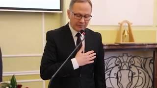 Ślubowanie Prezydenta Miasta Starogard Gdański