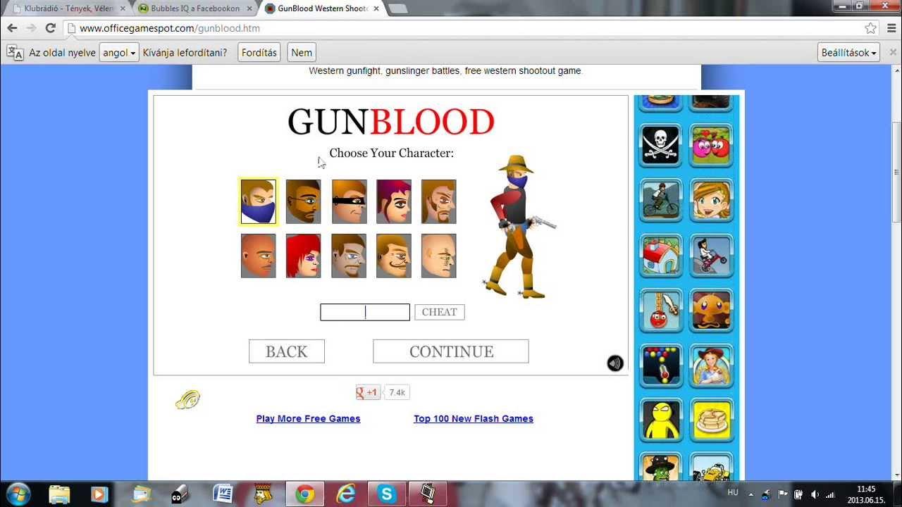 <b>gunblood cheat codes</b> - YouTube