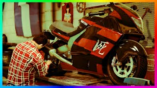 GTA 5 Biker DLC - Possible Motorcycle Shop Mechanic FOUND, NEW Chopper & Lost Slamvan Explained!
