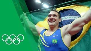 Arthur Zanetti on winning Brazil's first Olympic Gymnastics medal