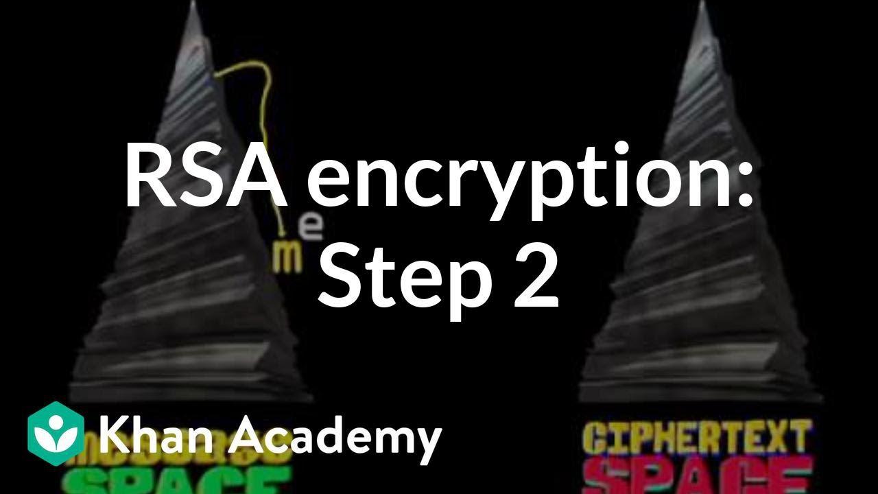 RSA encryption: Step 2 (video) | Khan Academy