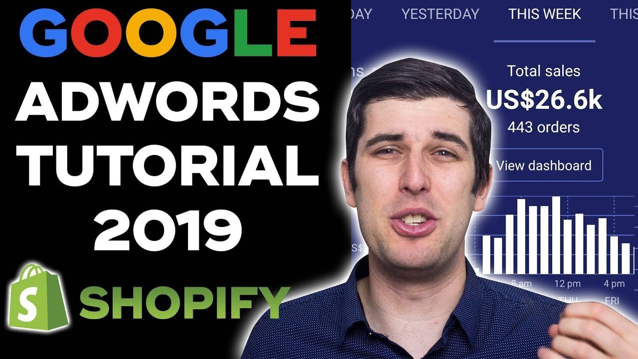 Google AdWords Tutorial 2019 | Step-By-Step Google Ads Tutorial For Beginners | Shopify Dropshipping