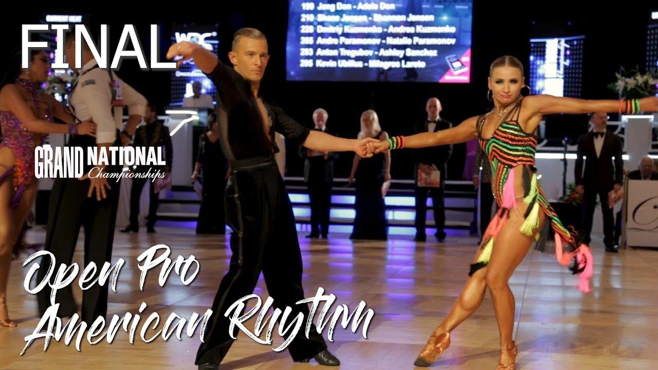 Open Pro American Rhythm I Final I Grand National 2019
